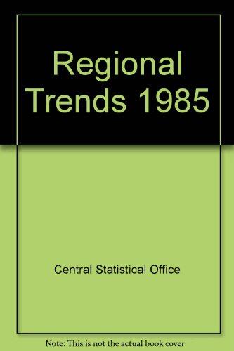 9780116201041: Regional Trends