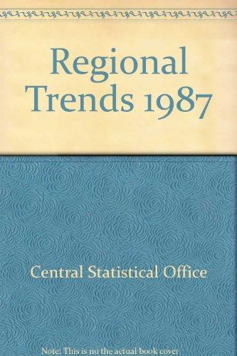9780116202468: Regional Trends