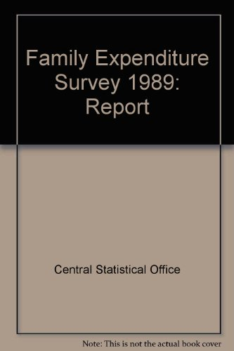 9780116204486: Family Expenditure Survey 1989: Report