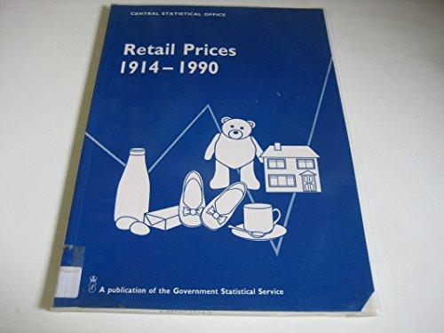 9780116204998: Retail Prices, 1914-1990