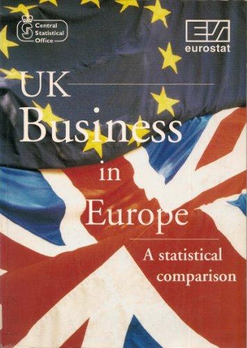 9780116207227: United Kingdom Business in Europe: A Statistical Comparison
