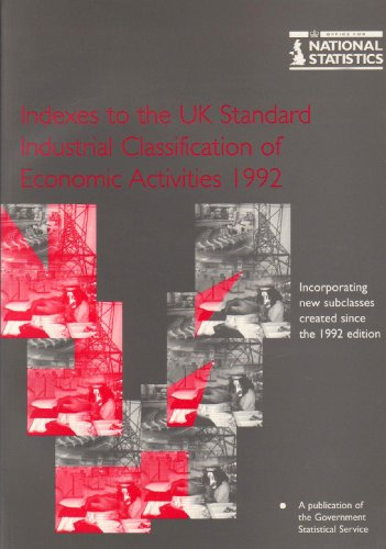 9780116209245: Indexes to UK Standard Industrial Classification of Economic Activities 1992Reprinted with Revisions [i.e. 2nd: UK SIC(92).