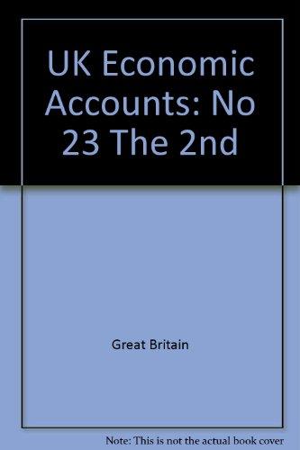 9780116210197: UK Economic Accounts: No 23 The 2nd