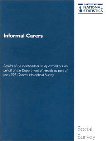 9780116210449: Informal Carers