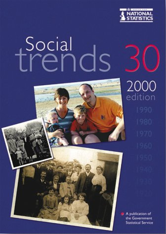 9780116212429: Social Trends 30: 2000 Edition
