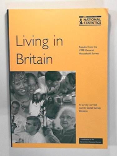 9780116212542: General Household Survey (Living in Britain, 28)