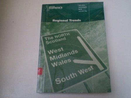 9780116212719: Regional Trends (Regional Trends, 35)