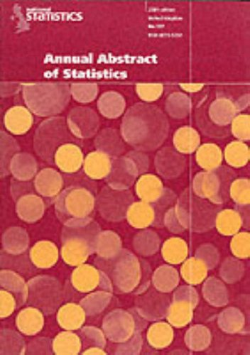 9780116213969: Abstract of Statistics 2001 (Annual Abstract of Statistics)