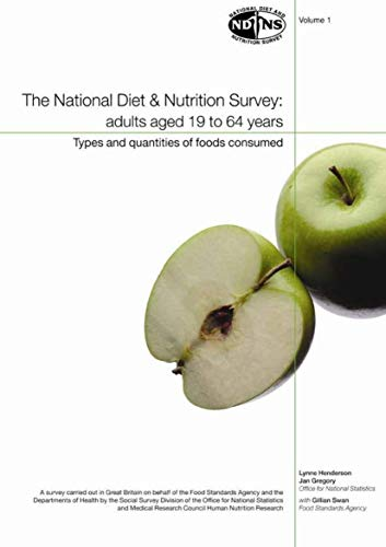 9780116215666: National Diet and Nutrition Survey: Vol. 1: Types and Quantities of Foods Consumed