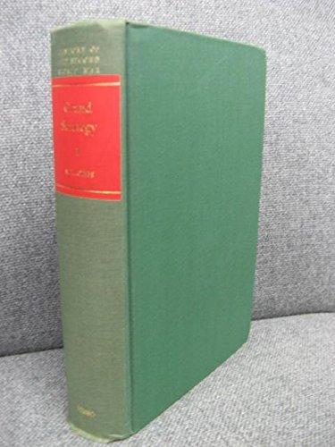 Grand Strategy Volume I : Rearmament Policy: Gibbs , N. H.