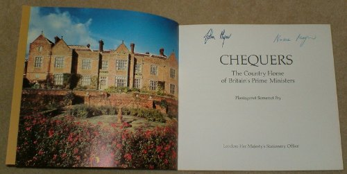 9780116302304: Chequers: The Country Home of Britain's Prime Ministers