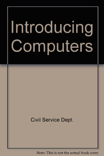9780116303332: Introducing Computers
