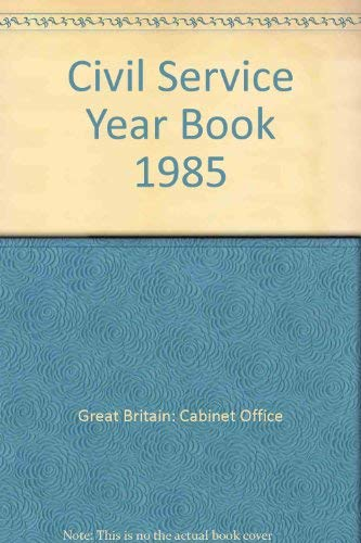 9780116304858: Civil Service Year Book 1985
