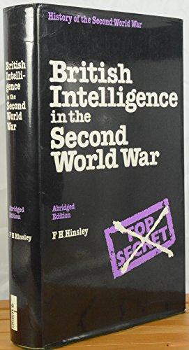 9780116309563: British Intelligence in the Second World War