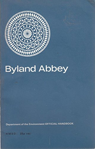 9780116700933: Byland Abbey: Yorkshire