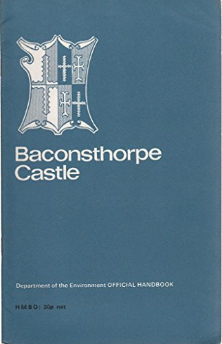 9780116701268: Baconsthorpe Castle
