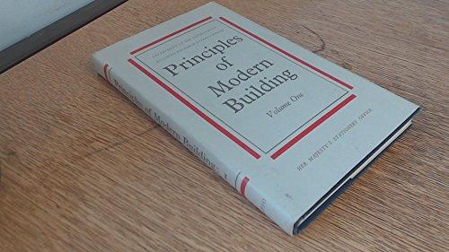9780116702951: Principles of Modern Building: Walls, Partitions and Chimneys v. 1