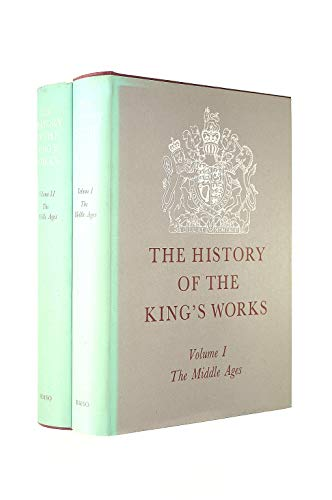 9780116704498: History of the King's Works: The Middle Ages v. 1 & 2