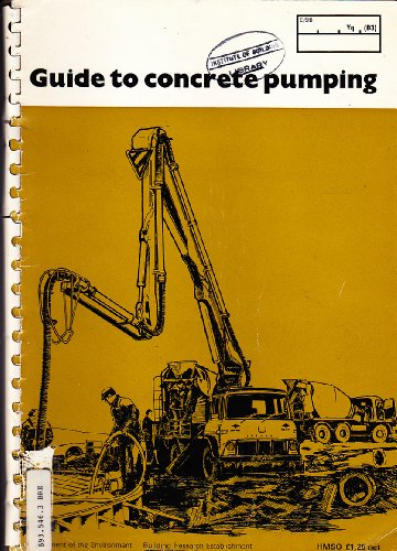 9780116705037: Guide to Concrete Pumping