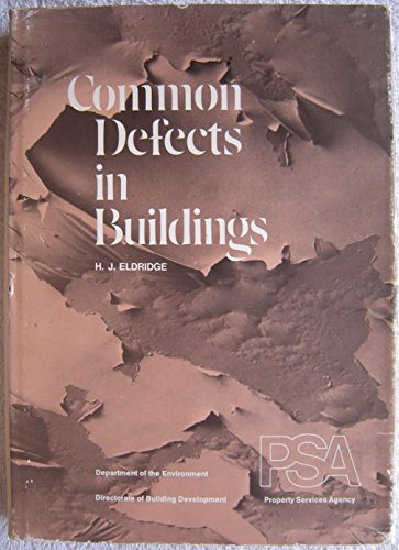 9780116705808: The Common Defects in Buildings