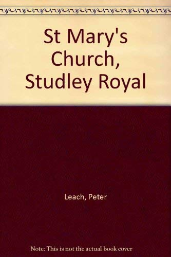 9780116708397: St Mary's Church, Studley Royal