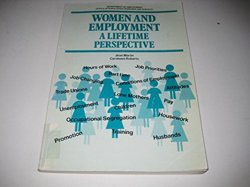 9780116910905: Women and Employment: A Lifetime Perspective