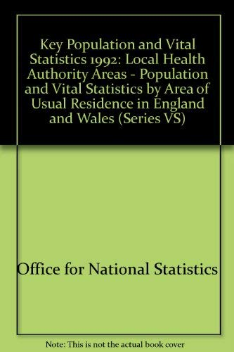 9780116915795: Key Population and Vital Statistics (Series VS)