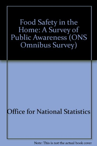 9780116916785: Food Safety in the Home: A Survey of Public Awareness (ONS Omnibus Survey)
