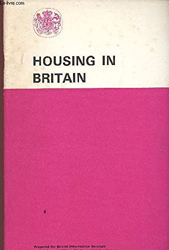 9780117000964: Housing in Britain (Central Office of Information reference pamphlet 41)