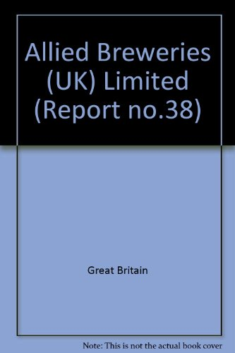 9780117002159: Allied Breweries (UK) Limited