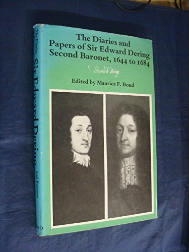 9780117003644: Diaries and Papers, 1644-84 (Occasional publications / Great Britain. Parliament. House of Lords. Record Office)