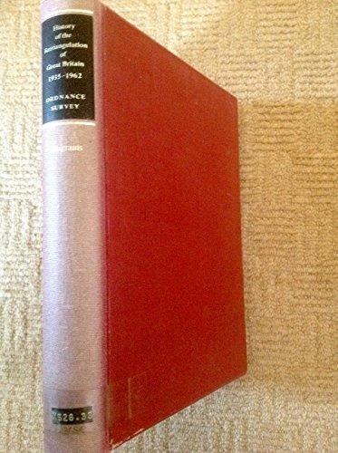 9780117004931: History of the Retriangulation of Great Britain, 1935-62