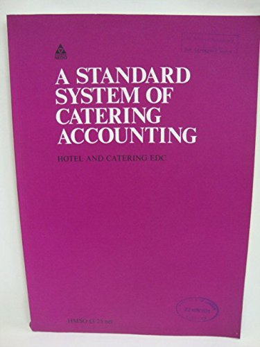 9780117005785: Standard System of Catering Accounting