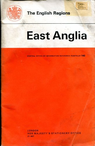 9780117007970: English Regions: East Anglia (Reference Pamphlet)