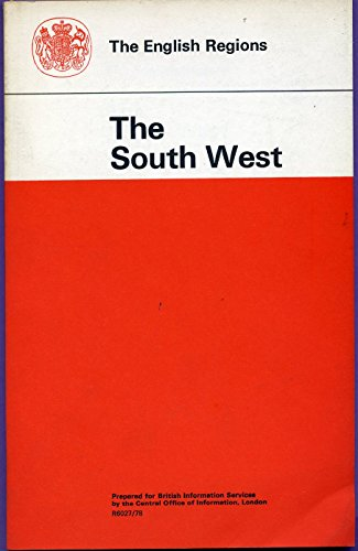 9780117009318: English Regions: South West (Reference Pamphlet)