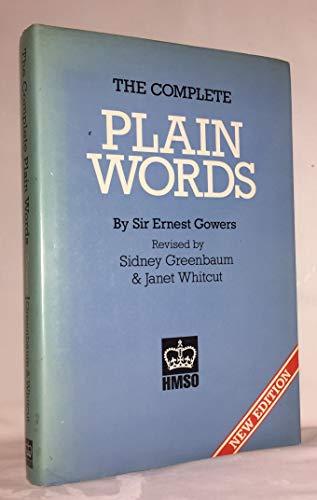 9780117011212: The Complete Plain Words (HMSO Hardback)