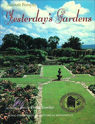 9780117011267: Yesterday's Gardens (National Monuments Record photographic archives)