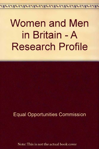 9780117013896: Women and Men in Britain - A Research Profile