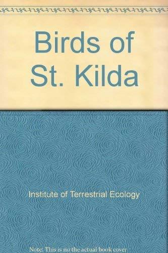 9780117014237: Birds of St. Kilda