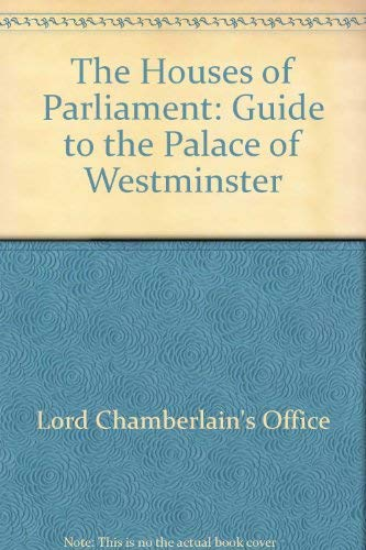 9780117015791: The Houses of Parliament: Guide to the Palace of Westminster
