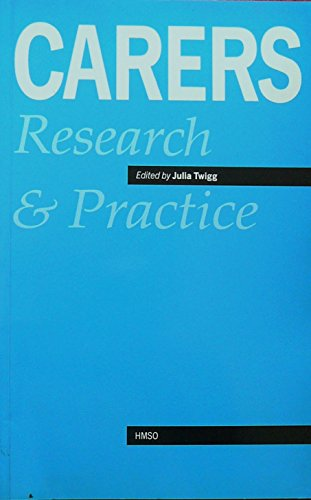 9780117016934: Carers: Research and Practice