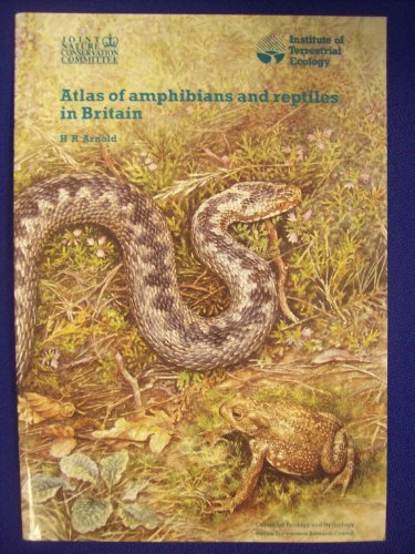 9780117018242: Atlas of Amphibians and Reptiles in Britain