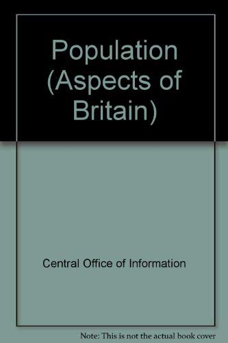 9780117020078: Population (Aspects of Britain)