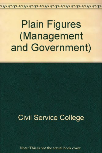 9780117020399: Plain Figures (Management and Government)