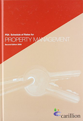 9780117020726: PSA schedule of rates for property management
