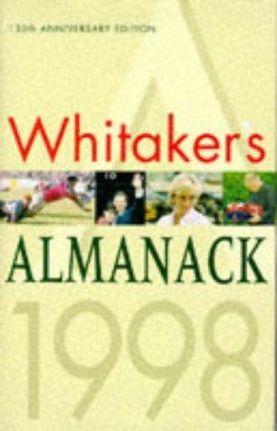 9780117021792: Whitaker's Almanack 1998: 130th annual edition. Standard edition