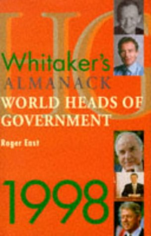9780117022058: Whitaker's Almanack World Heads of Government 1998