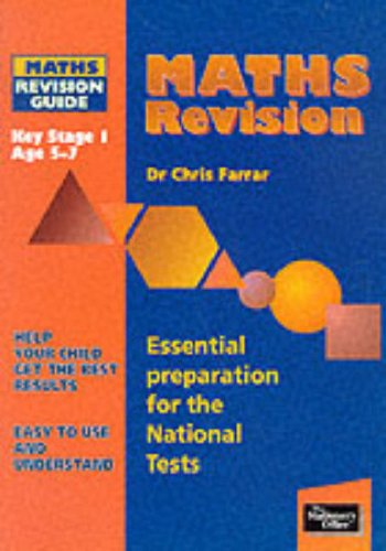 9780117022195: Maths Revision Guide: Key Stage 1