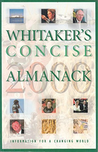 9780117022546: Whitaker's Concise Almanack 2000: 132nd annual edition