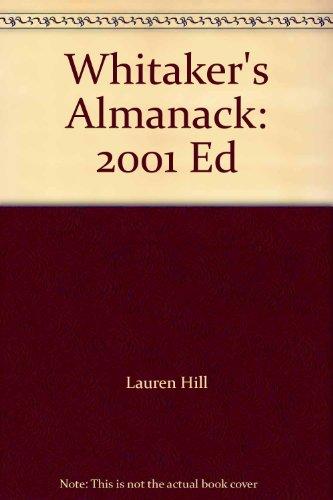 9780117022607: Whitaker's Almanack 2001: 133rd Annual Edition